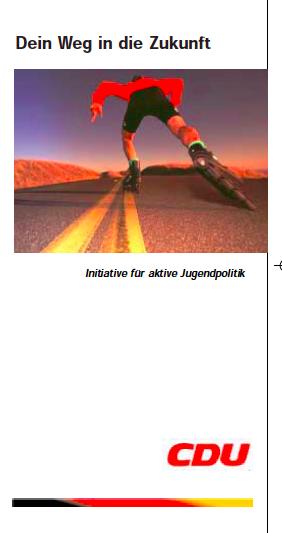 CDU: Broschüre für Erstwähler