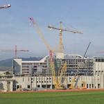 KVA in Perlen: Bauarbeiten gehen in die entscheidende Phase