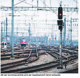Ein Bypass für den Hauptbahnhof Zürich