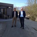 Schütz besucht Browers Eiland: Das Inselprojekt mitten im holländischen Naturschutzgebiet