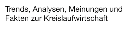 Claim_Recycling_Magazin
